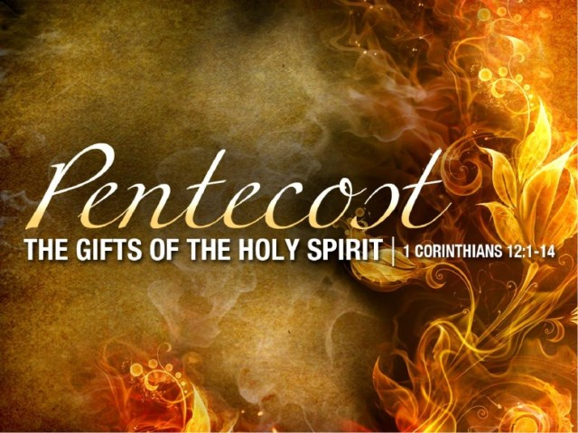 Pentecost Holy Spirit Wishes Message Image