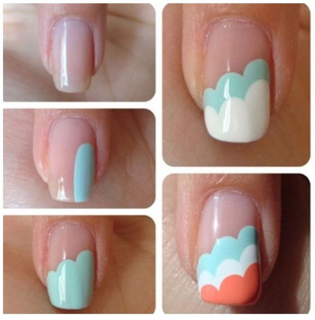 51 easy beginners nail art idea designs you should try picsmine 51 most beautiful easy beginners nail art designs prinsesfo Image collections