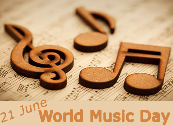 21 June Music Day Greetings Wishes Image