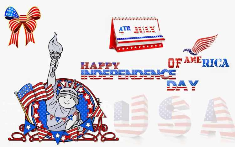 4th July Wishes Greetings Ecard Images