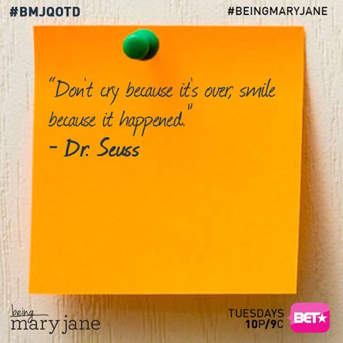 Being Mary Jane Sticky Notes Quotes