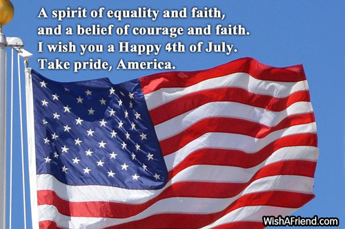 Best 4th July Happy Independence Day Greetings Quotes Image