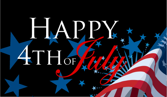 Best Wishes 4th of July Greetings Message Picture