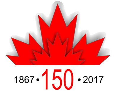 Celebrate 150 Year 2017 Happy Canada Day 1st July Greetings Message
