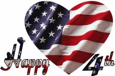 Celebrate 4th of July Best Wishes Greetings Message Image