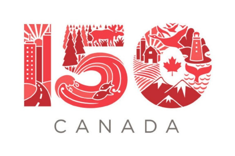 Celebrate 150 Canada Day Greetings Message Image
