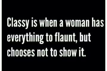 Classy Chick Quotes