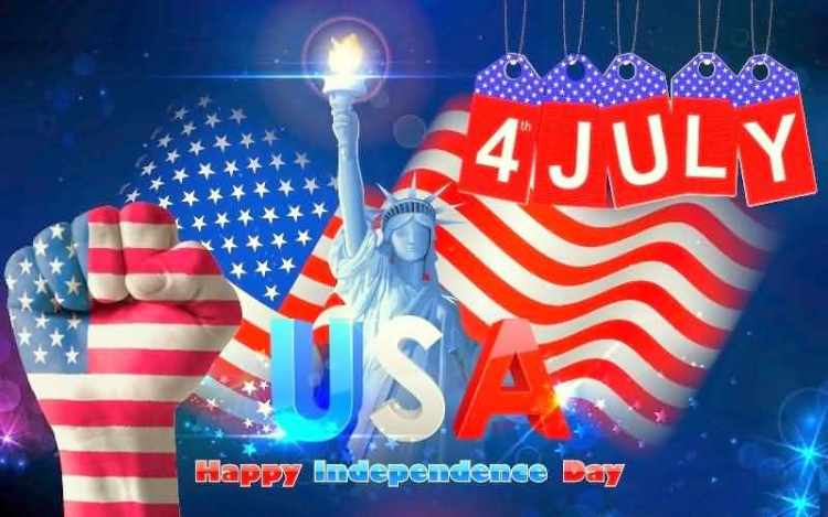 God Bless You USA 4th of July Best Wishes Message Images