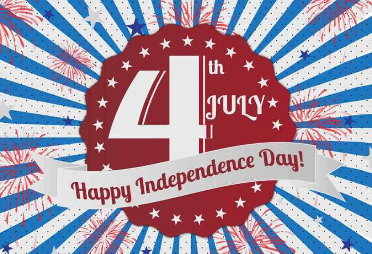 Happy 4th of July Best Wishes Message Image