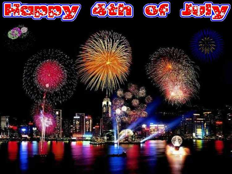 Happy 4th of July Greetings Message Image