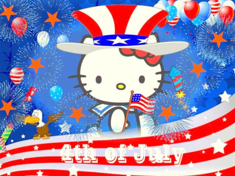 Happy 4th of July Independence Day Greetings Message Image