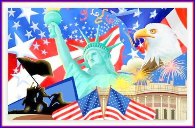 Happy Independence Day 4th of July Greetings Message Picture