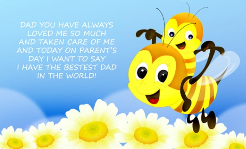 Happy Parents Day Wishes For Dad Best Dad In The World Image