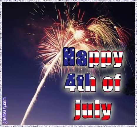 Have A Great 4th of July Best Greetings Card Message
