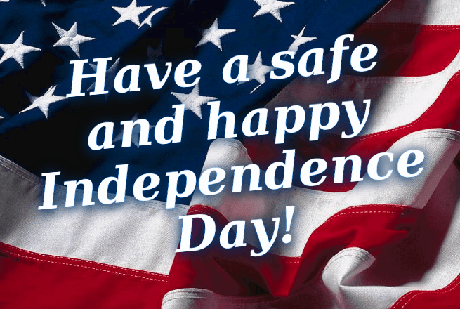 Have A Safe And Happy Independence Day 4th of July Best Wishes Greetings Image