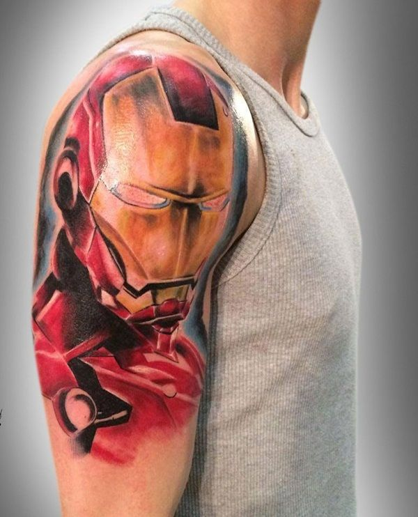 Iron Man Tattoos