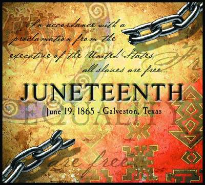 Juneteenth June 19 1865 Greetings Message Image