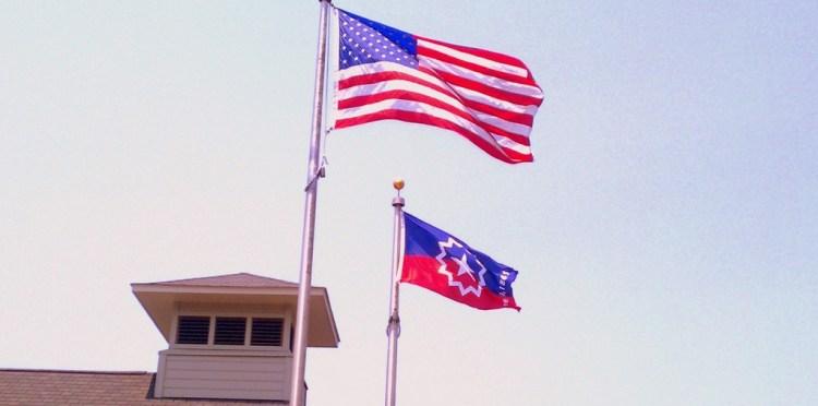 Juneteenth Waving Flag Images