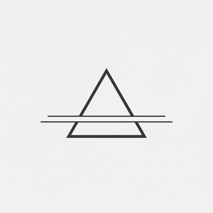 Minimalist Geometric Tattoos 009