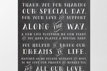 Thank You Card Quotes Wedding