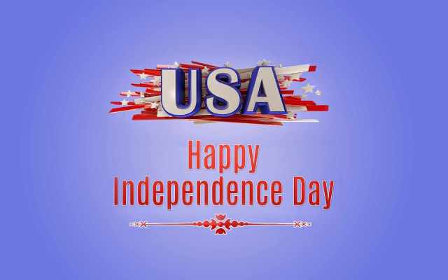 USA Happy Independence Day Greetings Picture