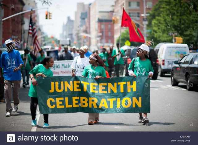 Wishing You Juneteenth Parade Images