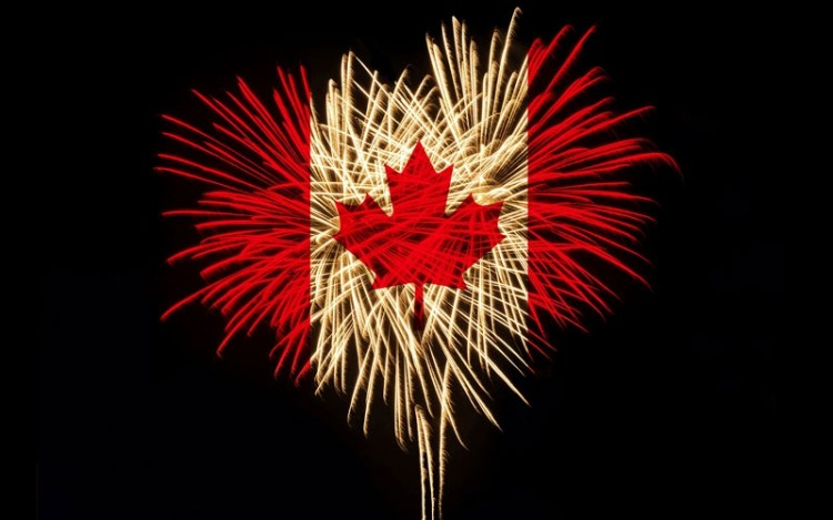 Wonderful Canada Day Greetings Wallpapers