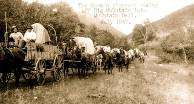 Happy Pioneer Day Old Picture Quotes
