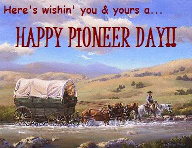 Pioneer Day Celebration Wishes Card Image