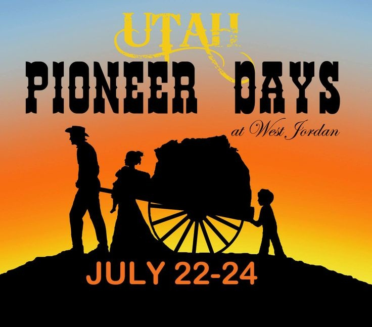 Utah Pioneer Day Wishes Message Picture