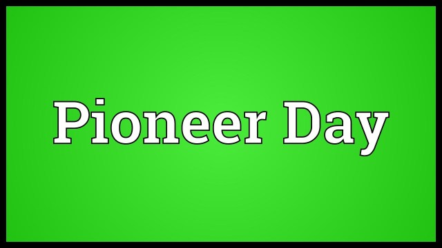 Wishing You A Very Happy Pioneer Day Wishes Image