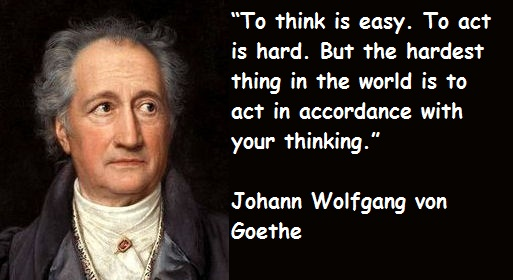 Johann Wolfgang Von Goethe Quotes Sayings Images