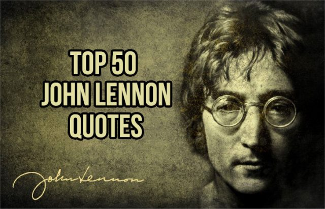 John Lennon Quotes Sayings 11