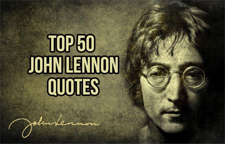 John Lennon Quotes Sayings 11