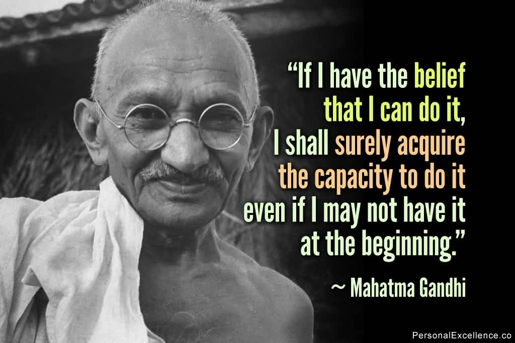 Mahatma Gandhi Quotes Sayings 15