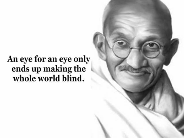 Mahatma Gandhi Quotes Sayings 21
