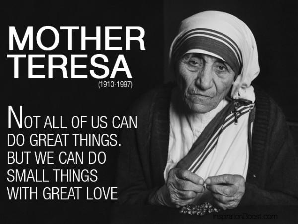 Mother Teresa Quotes Sayings 25