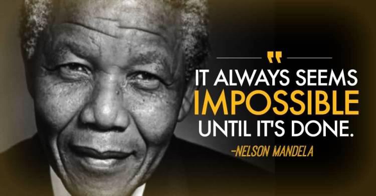 Nelson Mandela Quotes Sayings 10