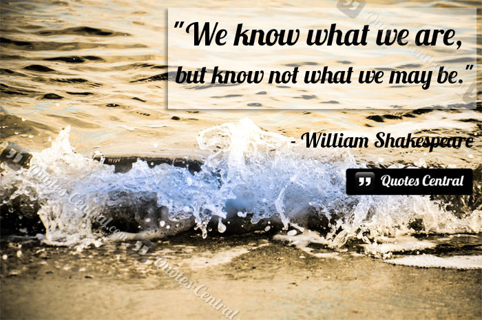 William Shakespeare Quotes Sayings 01