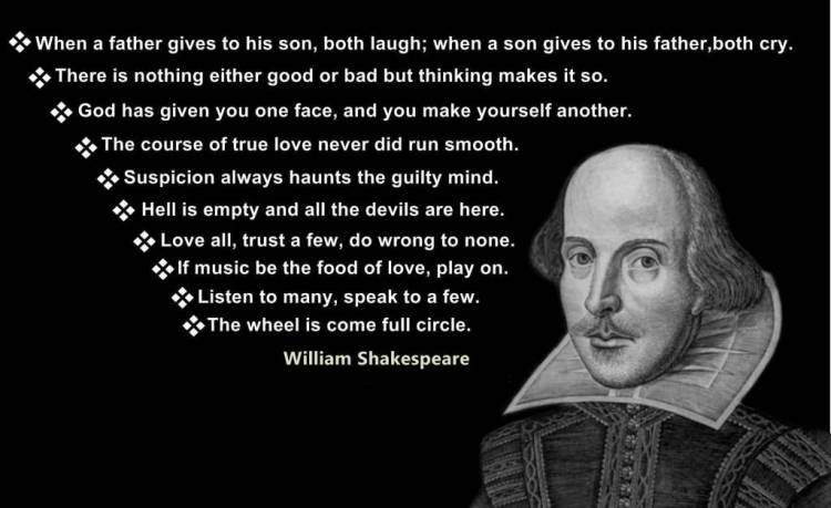 William Shakespeare Quotes Sayings 12