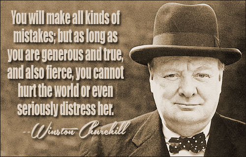 Winston Churchill Quotes Sayings 06