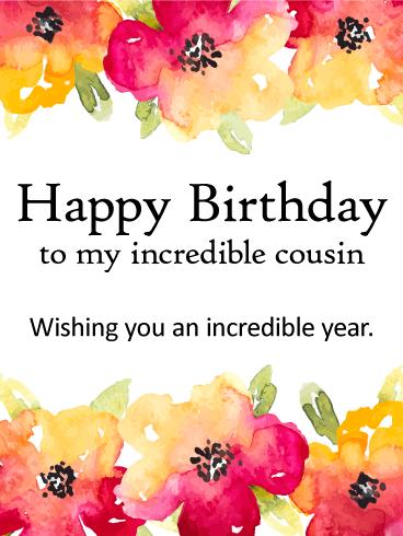 Happy Birthday Wishes Card 1