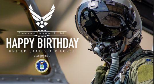U.S Air Force Birthday Wishes