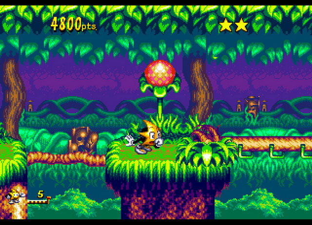 Bright, detailed graphics compliment the excellent level design.