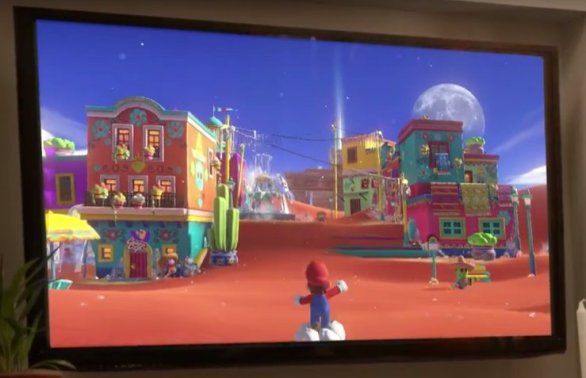 Super Mario Switch will likely make for a great launch title.