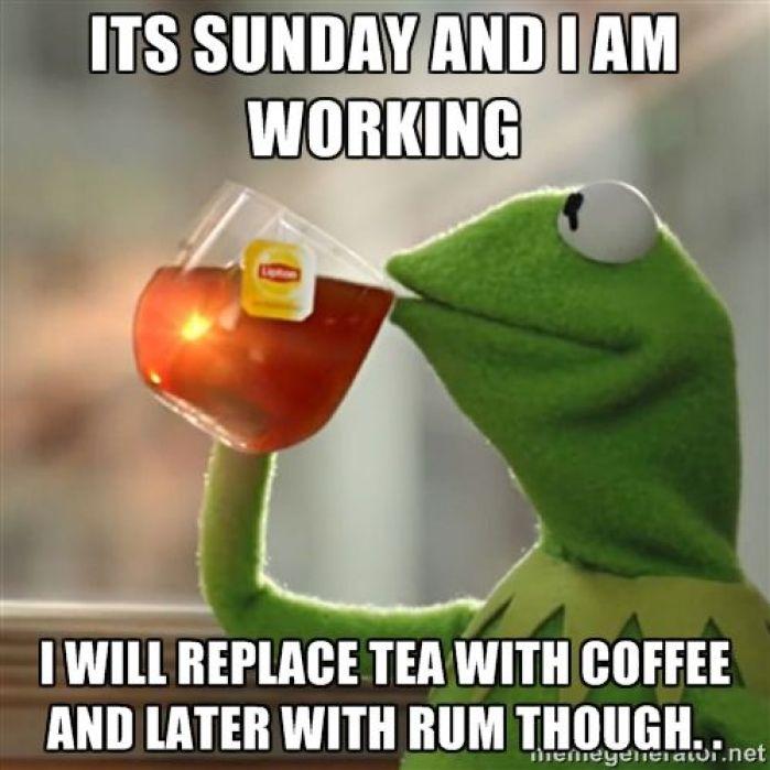 21 Happy Sunday Work Meme Pictures & Photos - Picss Mine