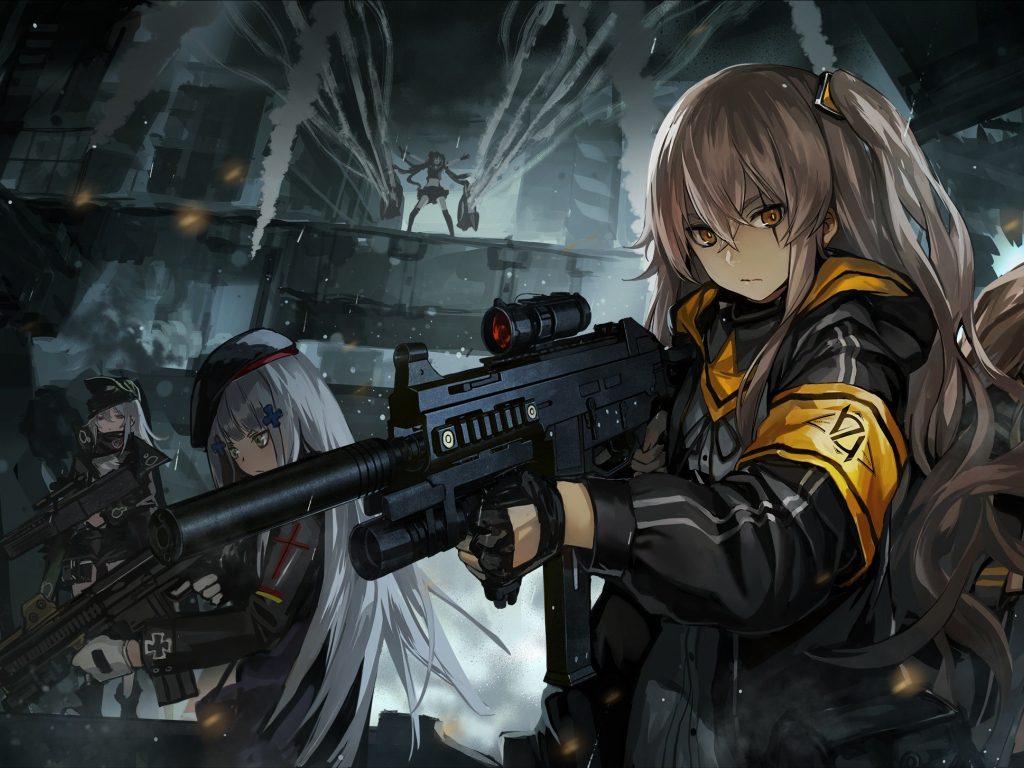 Cute Girl Hd Wallpapers 1080p Download Desktop Wallpaper Girl Army Anime Hd Image Picture