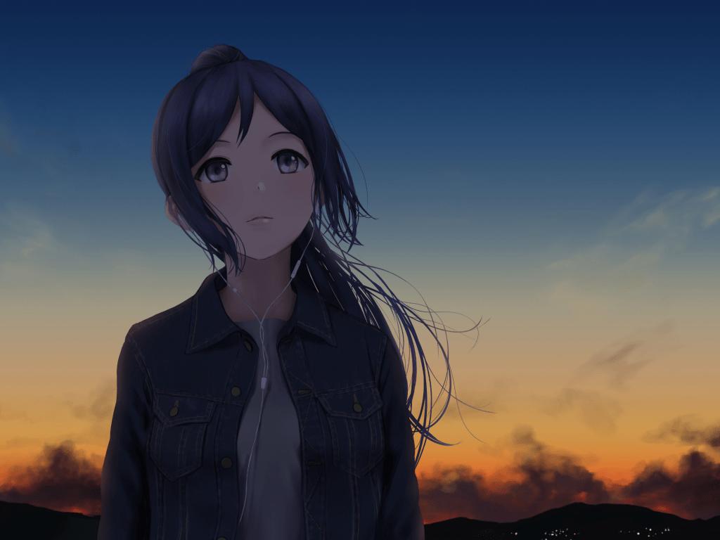 Wallpaper Anime Cute Angel Desktop Wallpaper Cute Matsuura Kanan Love Live