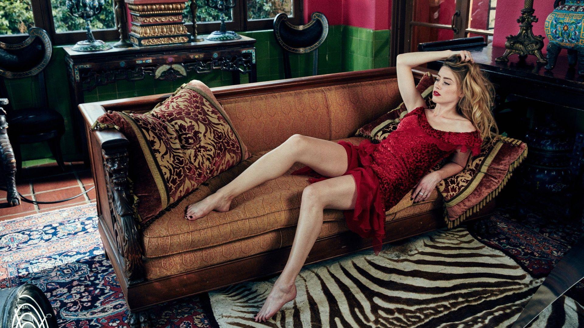 Fitness Girls Desktop Wallpapers Desktop Wallpaper Amber Heard Red Dress 2017 Photoshoot