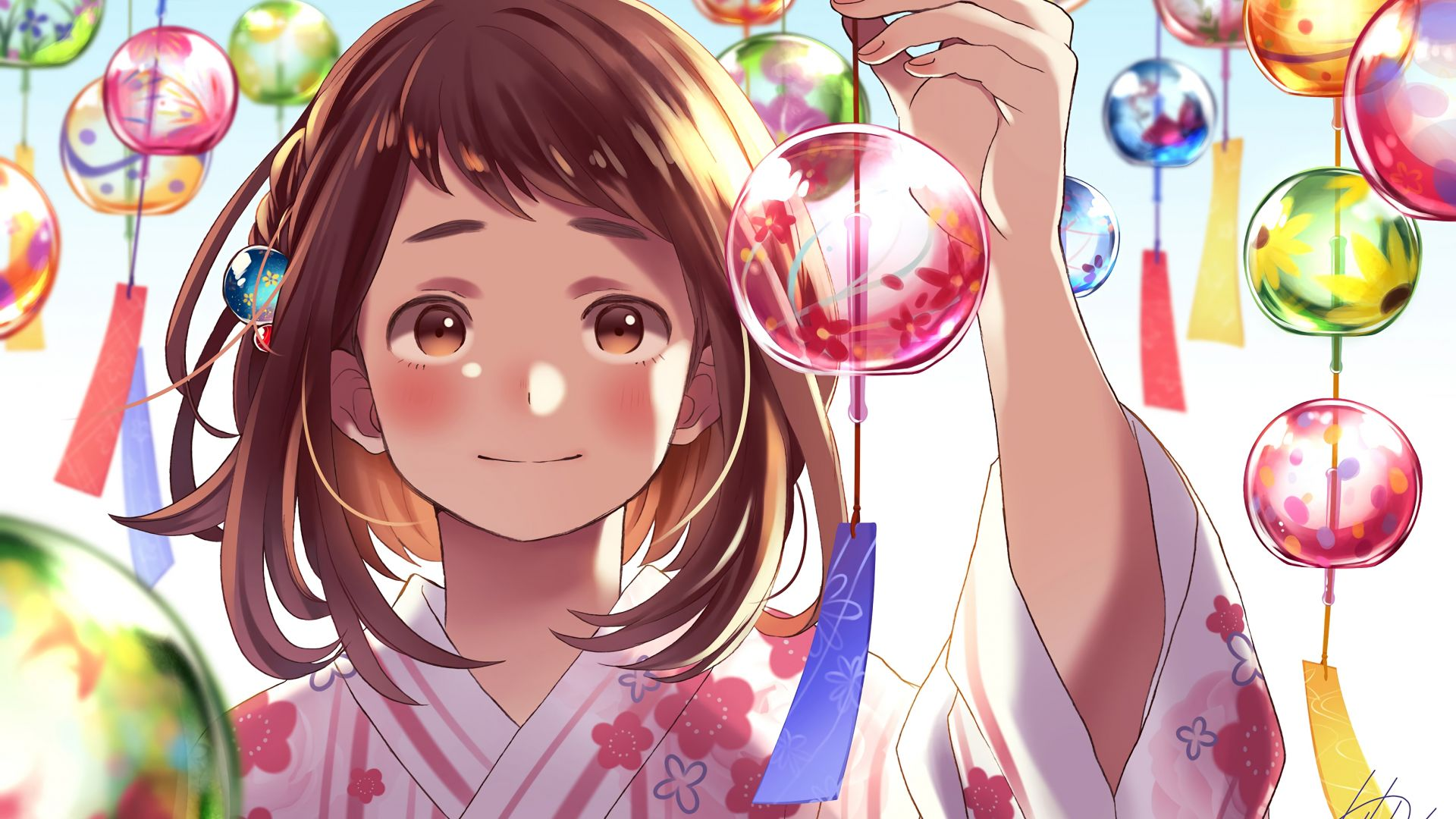 My hero academia wallpapers ,images ,backgrounds ,photos and pictures in 4k 5k 8k hd quality for computers, laptops, tablets and phones. Desktop Wallpaper Cute Anime, Ochako Uraraka, Decorations ...